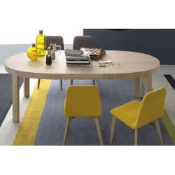 Išskleidžiamas stalas ATELIER 170(226)x100 natūralios medienos
