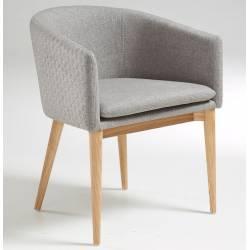 Kėdė/krėslas HARMON pilkas