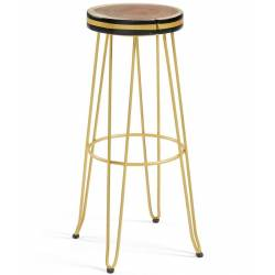 Baro kėdė FARLEY geltona