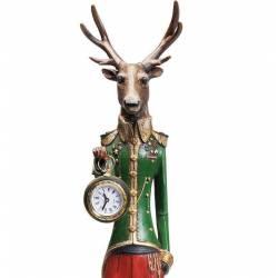 Pastatomas laikrodis Gentleman Deer