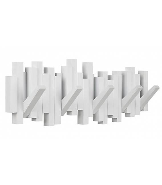 Kabykla STICKS MULTI HOOK WHITE