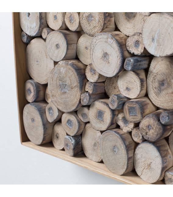 Dekoracija JIMMY wood natural 49x49