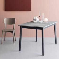 Išskleidžiamas stalas DINE 90(130)x90cm