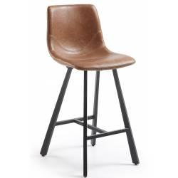 Pusbario kėdė TRAC PU ruda