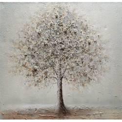 Paveikslas WHITE TREE 100x100