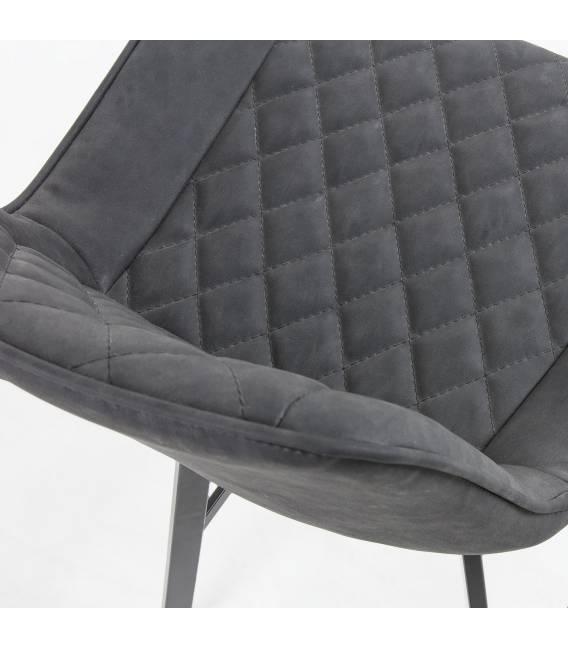 Pusbario kėdė ARIAN PU grafito