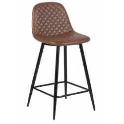 Pusbario kėdė WILMA PU ruda