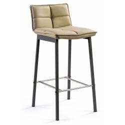 Pusbario kėdė LUNA PU TAUPE