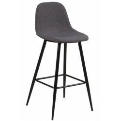 Baro kėdė WILMA tamsiai pilka