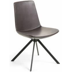 Kėdė ZAST PU tamsiai ruda