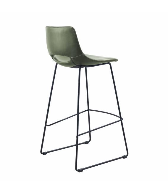 Baro kėdė ZIGGY PU žalia