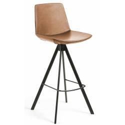 Baro kėdė ZEVA PU ruda