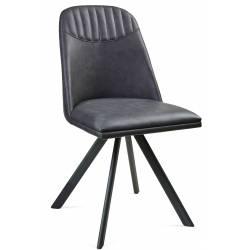 Kėdė ROUND pilka