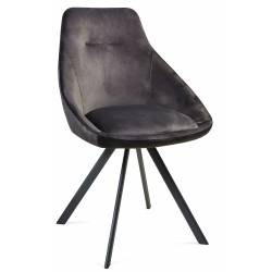 Kėdė ALUMNA VIC tamsiai pilka/sukasi