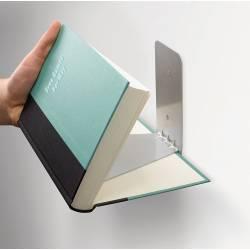 Knygų lentyna CONCEAL silver