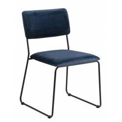 Kėdė 80651 VIC tamsiai mėlyna
