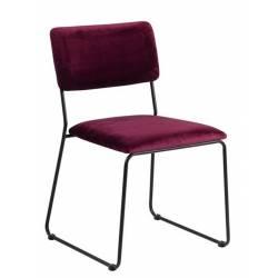 Kėdė CORNELIA VIC bordo