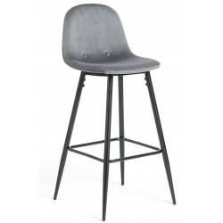 Baro kėdė NILSON-V pilka