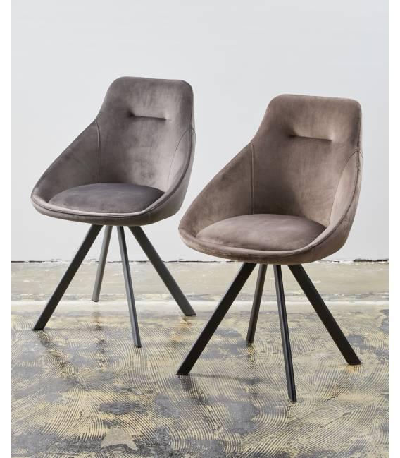 Kėdė ALUMNA VIC tamsiai pilka