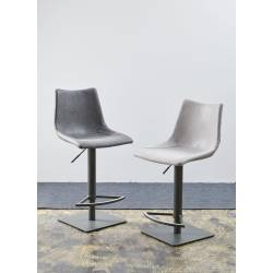 Pusbario kėdė AVENNA šviesiai pilka