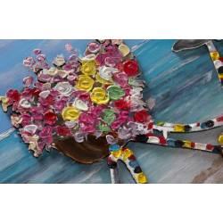 Paveikslas FLOWER BIKE 60x90