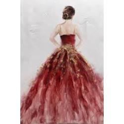 Paveikslas RED DRESS 60x90