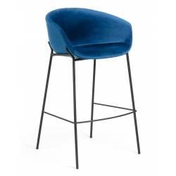 Baro kėdė ZADINE VIC mėlyna