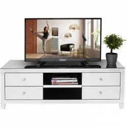 TV staliukas LUXURY 140x45 veidrodinis