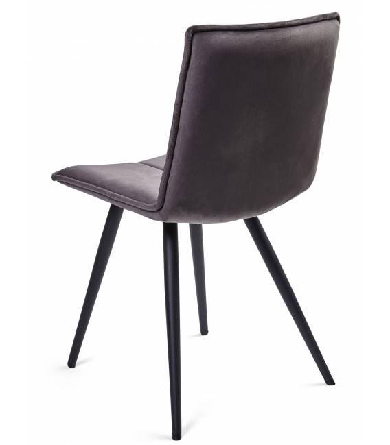 Kėdė LUNA VIC tamsiai pilka
