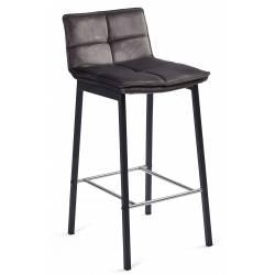 Pusbario kėdė LUNA VIC tamsiai pilka