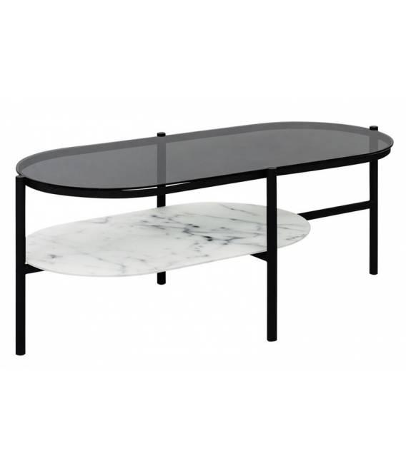 Kavos staliukas 18006 115x45 tamsintas stiklas