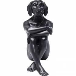 Dekoracija GANGSTER DOG juoda