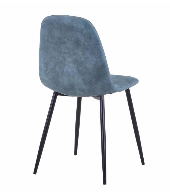 Kėdė CONNY eco-nobuck turkio/juodos kojos