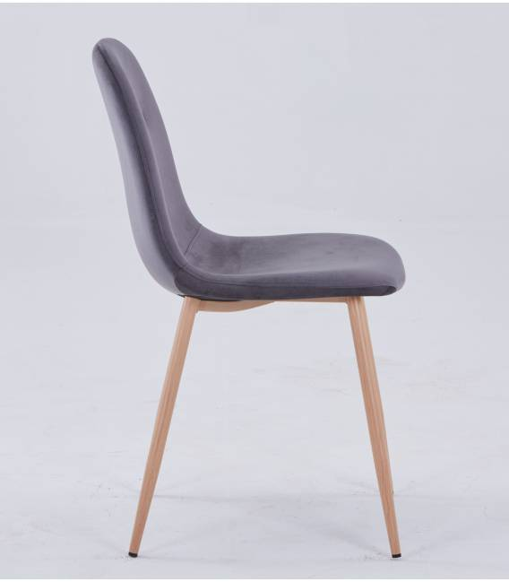 Kėdė CONNY VIC tamsiai pilka