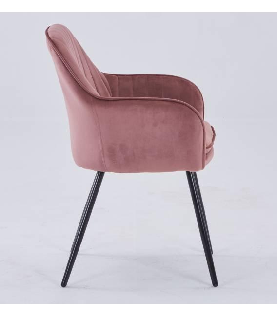Krėsliukas MOREN VIC tamsiai rožinis
