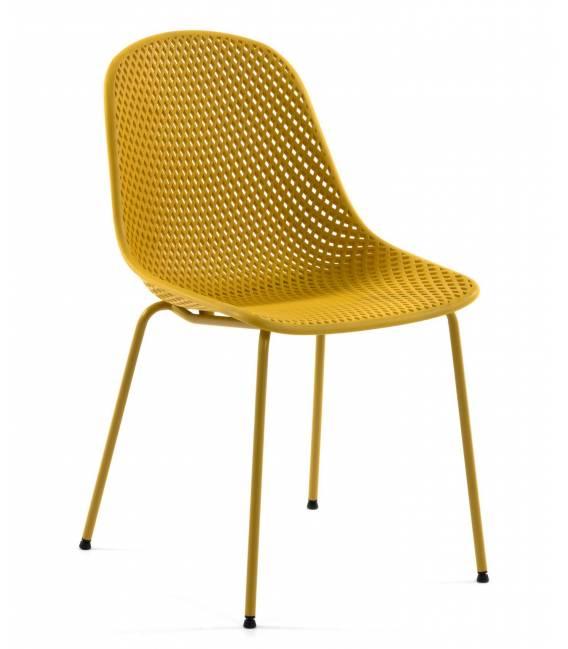 Kėdė QUINBY geltona