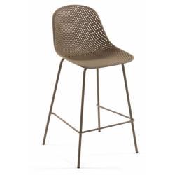 Baro kėdė QUINBY ruda