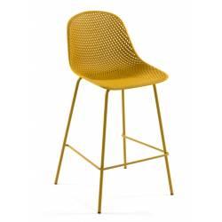 Baro kėdė QUINBY geltona