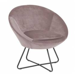 Fotelis CENTER VIC rožinis