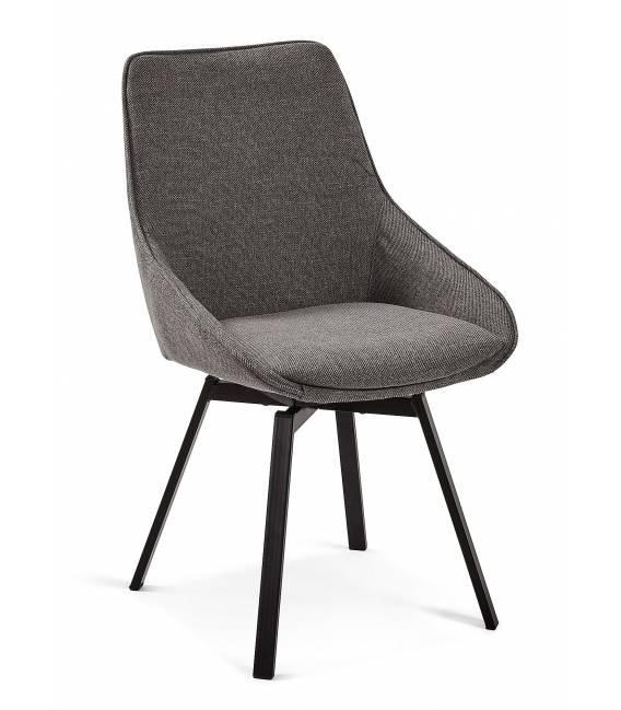 Kėdė HASTON tamsiai pilka