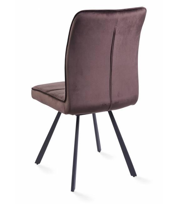 Kėdė VIA VIC tamsiai ruda