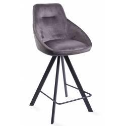 Pusbario kėdė ALUMNA VIC tamsiai pilka