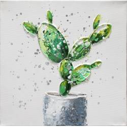 Paveikslas SMALL GREEN CACTUS 30x30