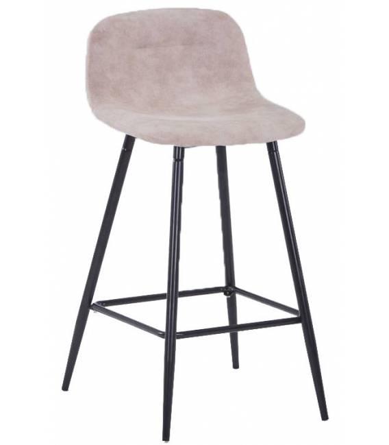 Pusbario kėdė CONNY eco-nobuck taupe
