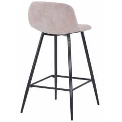 Pusbario kėdė CONNY eco-nobuck tauoe