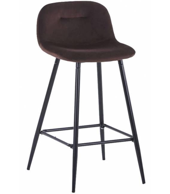 Pusbario kėdė CONNY VIC tamsiai ruda