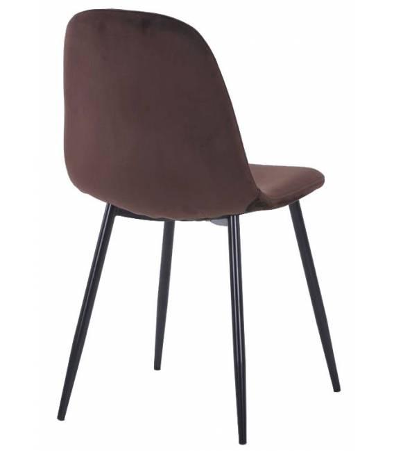 Kėdė CONNY VIC tamsiai ruda