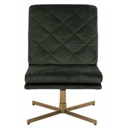 Fotelis CARRERA VIC tamsiai žalias