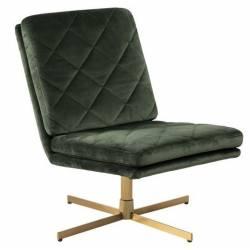 Fotelis 78611 VIC tamsiai žalias