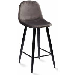 Pusbario kėdė KEVIN VIC pilka